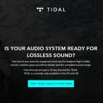 ロスレス音楽とAAC320kbps音楽を聴き比べテストできるサイト・TIDAL