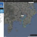 世界中の飛行機のリアルタイムな位置が分かるサイトが凄まじい